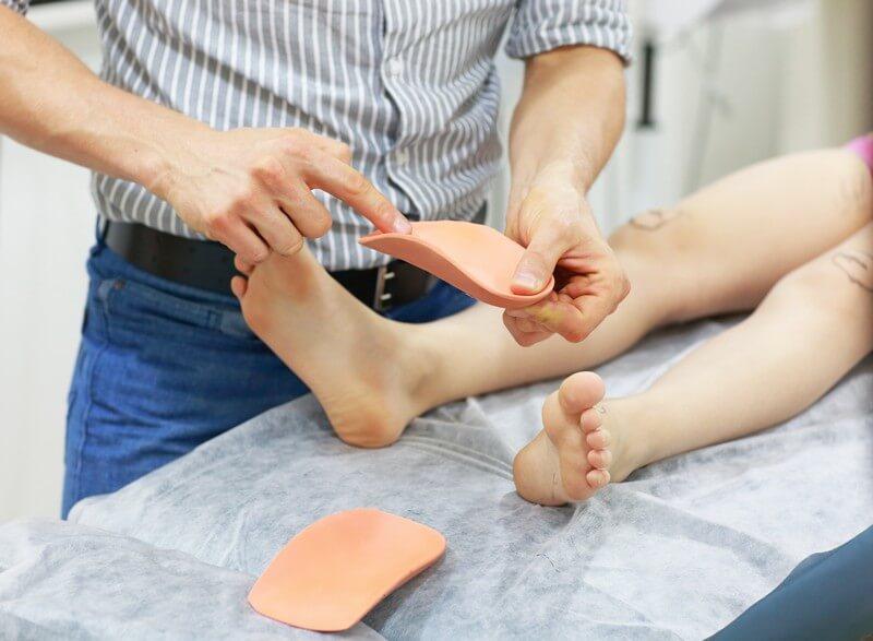 בריאות כף הרגל אצל ילדים