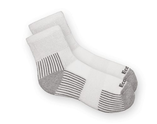 גרביים לחולי סכרת ecosox לבן