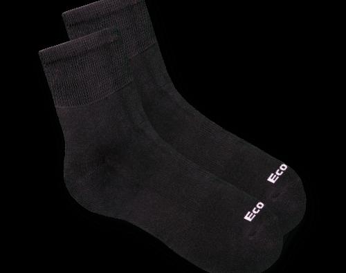 גרביים לחולי סכרת ecosox שחור